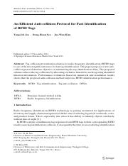 2014_An Efficient Anti-collision Protocol for Fast Identification of RFID Tags.pdf
