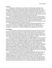 drosophila genetics lab report introduction Introduction: drosophila melanogaster,  drosophila genetics lab report discussion the review also reports that same-sex behaviors are not the same across.