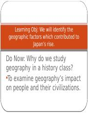 Japan I Geography