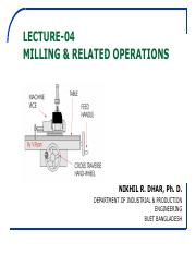 5) Milling-Related-Operations