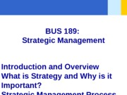PPT FILE -Chapter 01 - What is Strategy - student