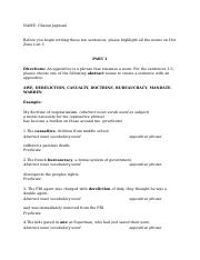 Copy of Vocabulary Sentences, Hot Zone List 3.docx