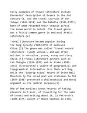 History of Travel