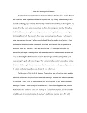 gay marriage paper page 1