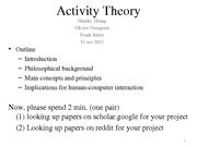 ist331-course21 ActivityTheory