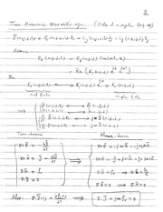 Supp_notes_6_Maxwell Eqs & Poynting Theorem