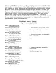 The Black Mans Burden Poem.doc
