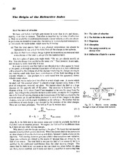 Feynman Physics Lectures V1 Ch31 1962-02-27 Th Origin of Refractive Index
