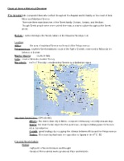 Classical Greece Historical Overview