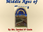 Middle Ages of Europe (1)