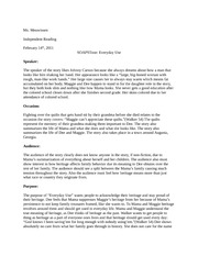Reader-Response Essay - The short story Everyday Use by Alice ...