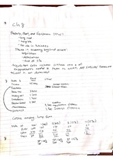 Ch. 8 Notes: property, plant and equipment