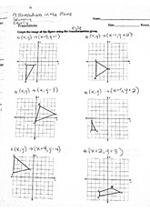 math worksheet : translation math worksheets kuta  kuta worksheet on  : Translations Math Worksheets