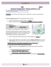 sbi4u photosynthesis lab gizmo Sbi4u photosynthesis lab gizmo essay  in the photosynthesis lab gizmo™, you can monitor the rate of photosynthesis by measuring oxygen production 1 observe the.