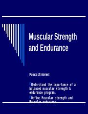 Muscular Strength and Endurance Notes.ppt