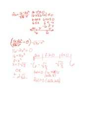 Precalculus Review - Aug 24, 2014
