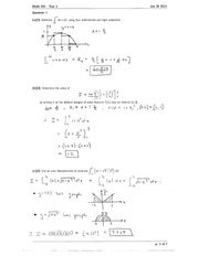 Math 101 area interpreutation homework