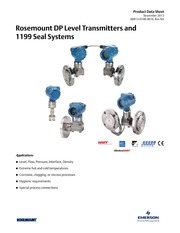 Rosemount DP Level Transmitters and