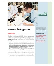 CHAPTER 10  Inference for Regression