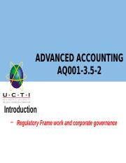 Advanced accounting 1
