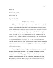 English 100 Essay1 2pg Draft.docx