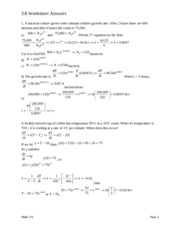 3.4 Worksheet on Composite Functions - = 29 5 2 10 x 5 u 10 2 x 2 ...
