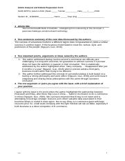 31245 Article Analysis and Debate Preparation Form 5.docx