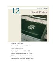 Essential of Economics Chapter 12