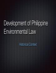 3 Development of Philpippine Environmental Law.pdf