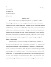 Fiction Essay 2