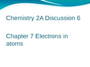 Chem 2A discussion 6