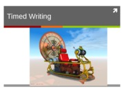timed writing powerpoint