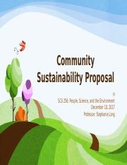 Community Sustainability Proposal.pptx