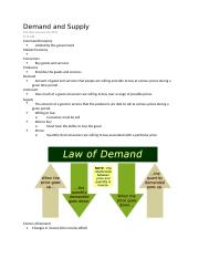 Demand and Supply.docx