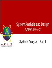 13LECTURE7-SYSTEMSANALYSIS-PART1.ppt
