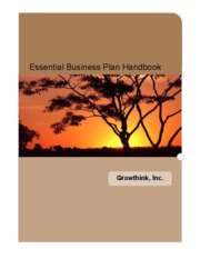 GrowThink's Essential Business Plan Handbook