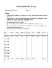 Newsome's Time Management Form.docx