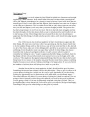 The Pigman Essay.doc