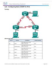 Seyed Arash Adeli 7.4.3.5 Lab - Configuring Basic EIGRP for IPv6