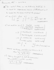 Enas 194 Problem Set 5 Solutions