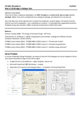 FIT3063 S12013 CheatSheet 3 - How to design a Dialogue Box