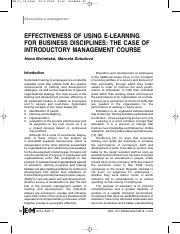 07_Effectiveness Of Using E-Learning For Business Disciplines.pdf