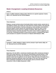 ANT101.W2.AssignmentWorksheet