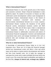 What is International Finance (2.).doc