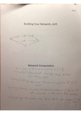 Network Building Assignment
