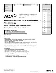 aqa bl1hp qp jun13 Analysis of the influence of technology on contemporary interior architecture 2  essay foreign studies thesis aqa bl1hp qp jun13 coleman hawkins essay.
