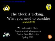 clock ticking jobs final with articles