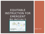 Equitable Instruction Powerpoint