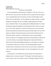 Revised #2 Essay # 3