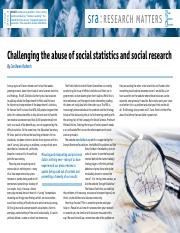 Challenging the abuse of social statistics and social research.pdf